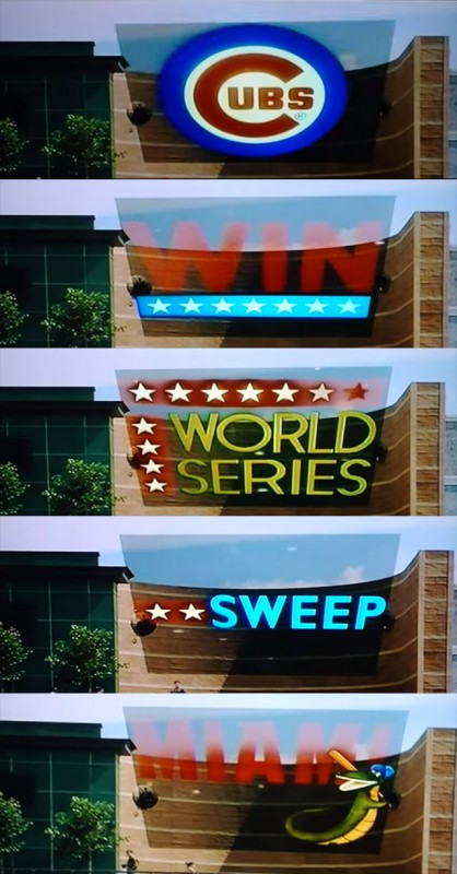 back to the future world series