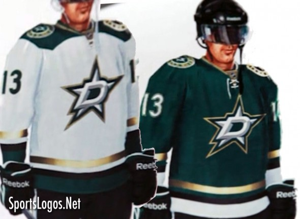 Dallas Stars Green Gold Black Concept
