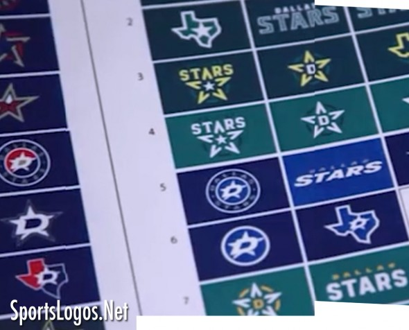 Dallas Stars Logo Concepts 1