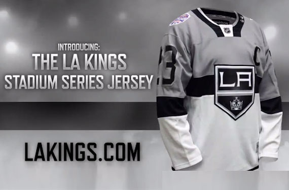 Kings Stadium Series Ad