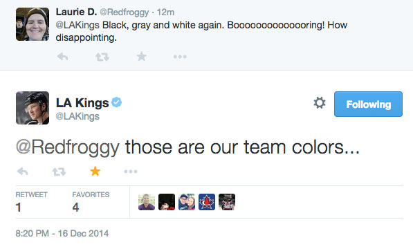 Kings Tweet
