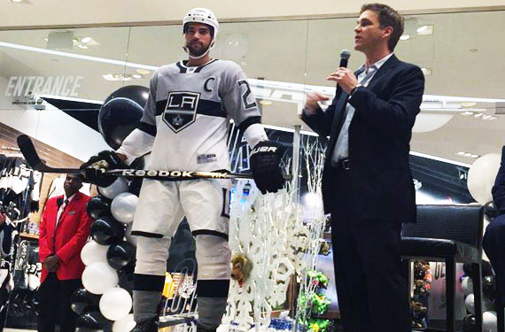 LA KIngs 2015 Stadium Series Uniform