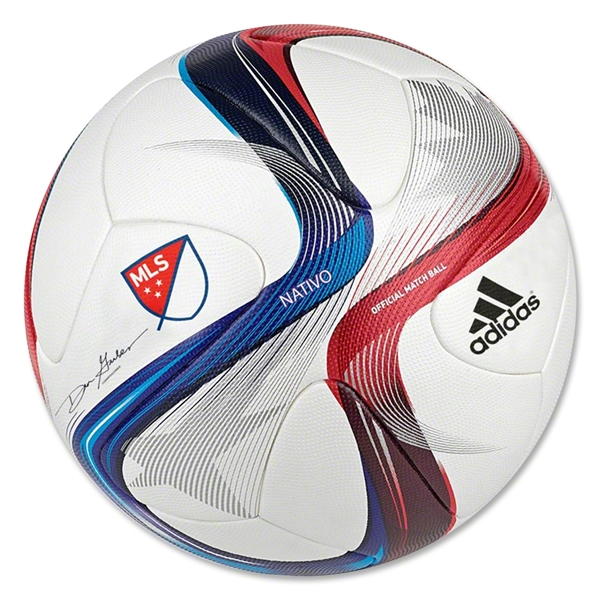 Mls Unveils Match Ball For 2015 Sportslogos Net News