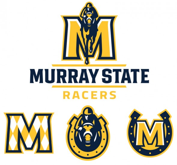 Murray State Racers New Logos 2014