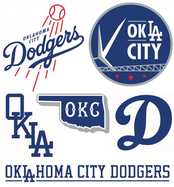 OKC Dodgers logos