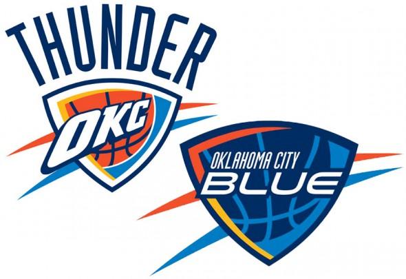 OKC Thunder OKC Blue Logos