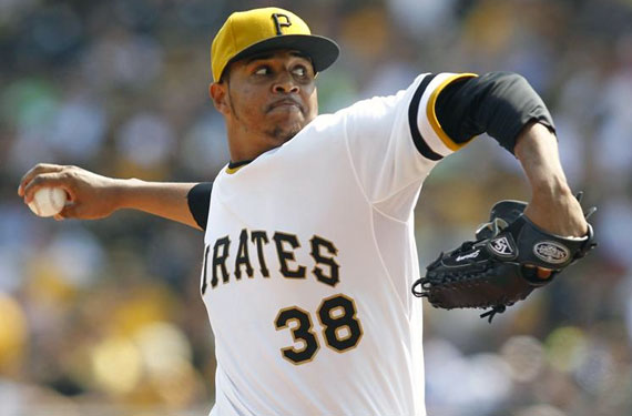 55da4b8a Pittsburgh Pirates Retro Sunday Alternate Uniform 2014 | Chris ...