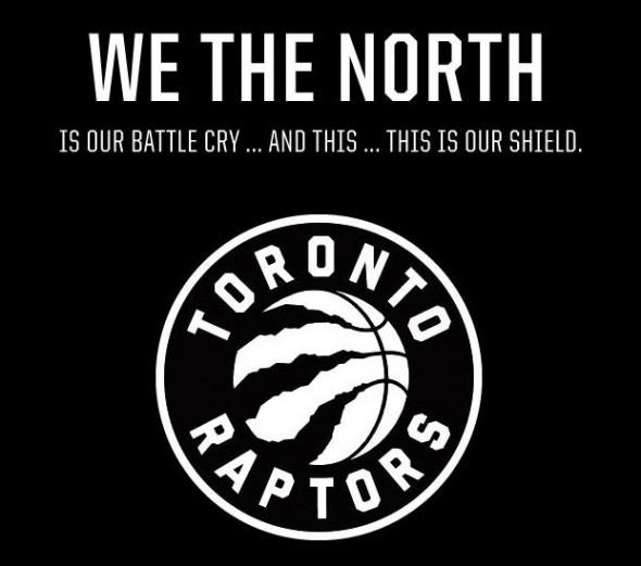 Raptors new logo