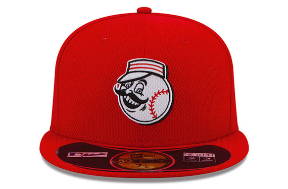 Reds Unveil New Batting Practice Cap