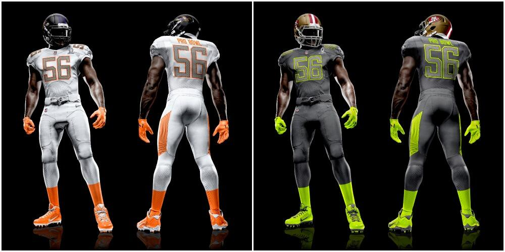 new products 07451 aa832 2015 Pro Bowl Uniforms Are Very Similar To 2014 Version ...