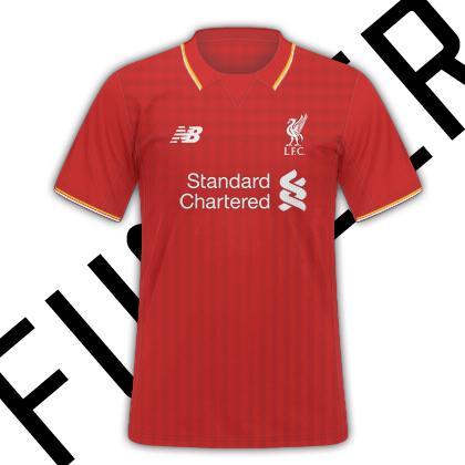 2015-16 Liverpool Kits By New Balance Leak