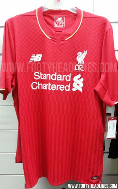 Liverpool 2015-16 kit