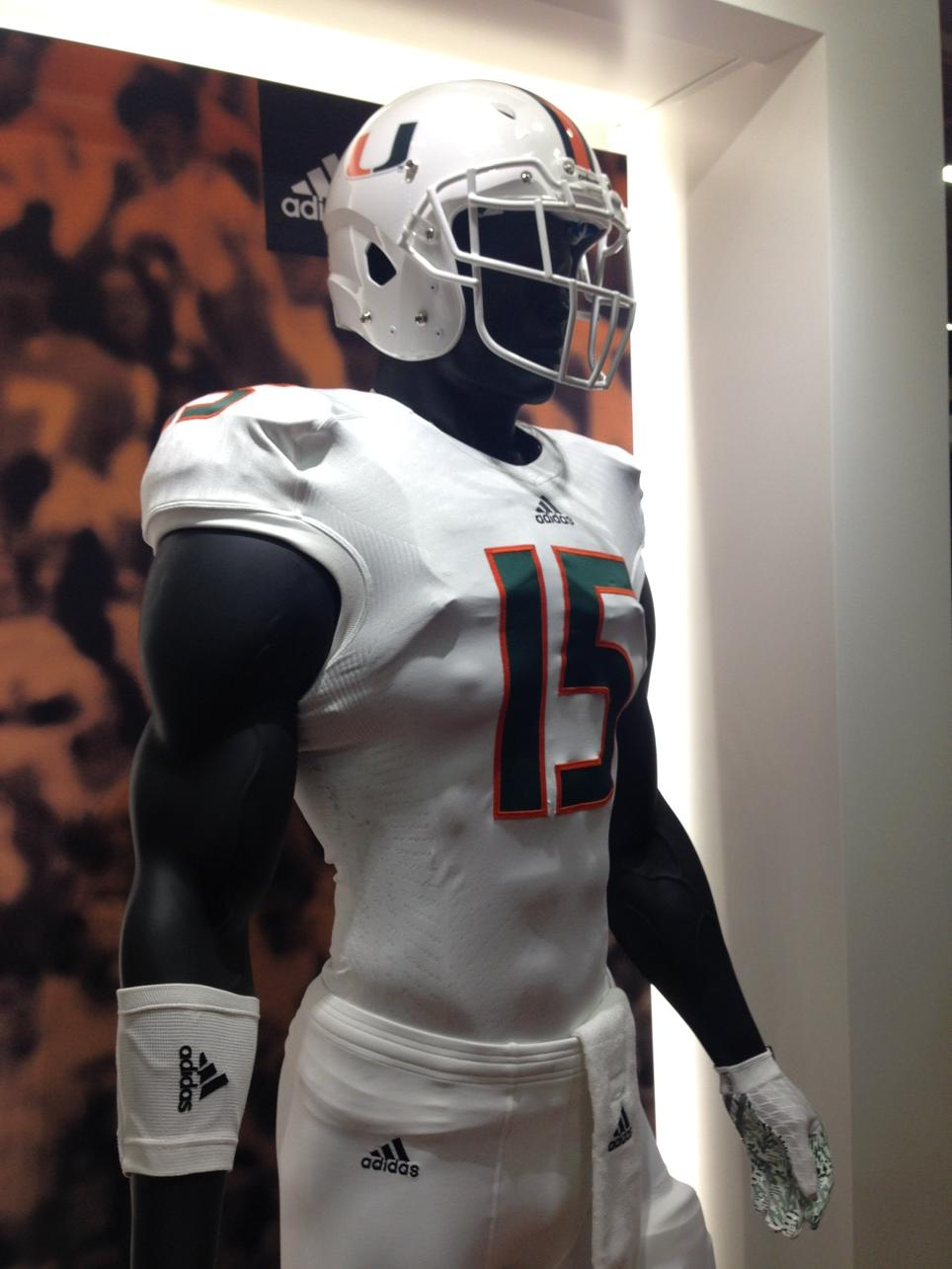 0e9469266396 Adidas Shows Off Prototype Football Uniforms For Miami and Arizona ...