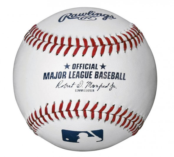 New Major League Baseball for 2015 Rob Manfred Signature Rawlins