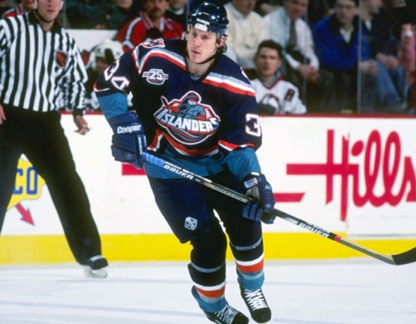 New York Islanders Fisherman Uniform 1997