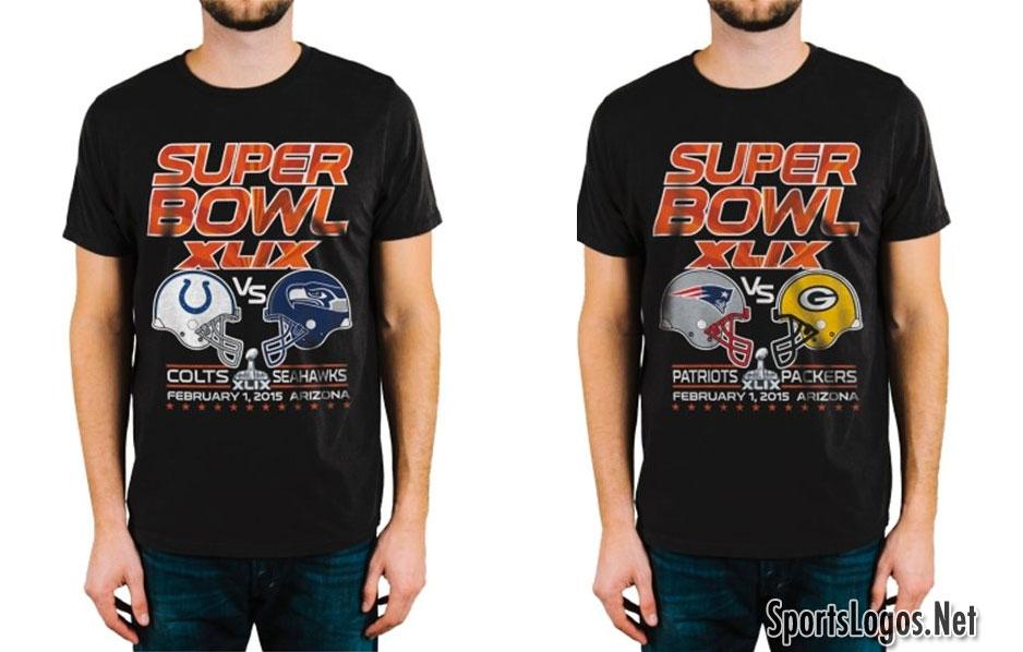 Super Bowl XLIX, 2014 Conference Phantom Merchandise