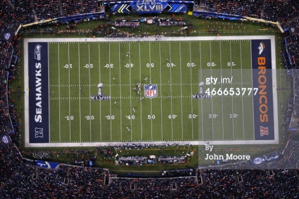 Super Bowl XLVIII Field Design