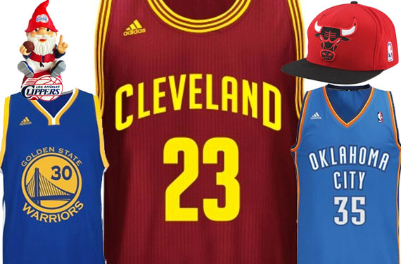 Cavs, LeBron Announced As Top Selling NBA Merchandise