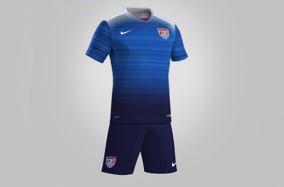 The 2015 Away Kit For US Soccer Gets A High-Profile Leak