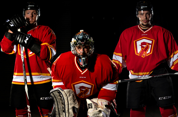 ECHL Gladiators new unis pay tribute to the Atlanta Flames