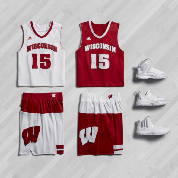 Adidas Made In March Wisconsin