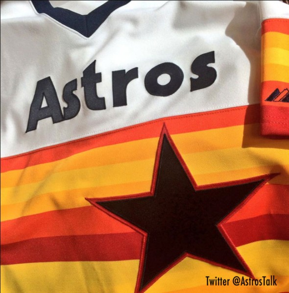 Astros 1980 Throwback Jersey