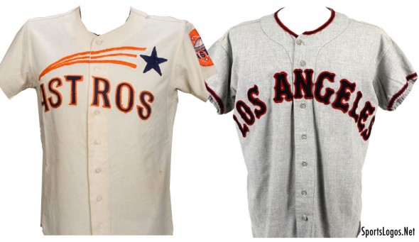 Astros Angels 1965 Throwbacks