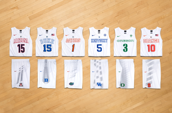 Nike Rolls Out Mostly-White Elite Rivalry Series uniforms
