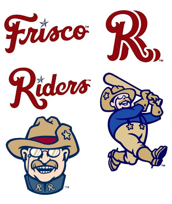 frisco roughriders alternate logos chris creamer s sportslogos net rh news sportslogos net chris creamer logos nba chris creamer logo sport
