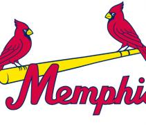 Memphis Redbirds New Logo 2015