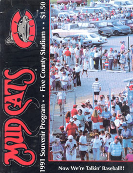 MudcatsProgramCover_1991