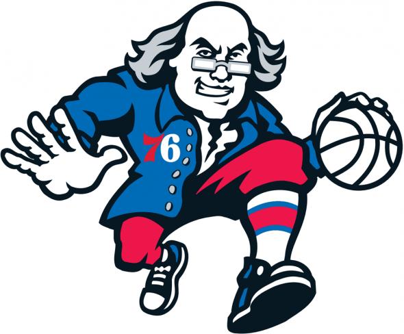 Philadelphia 76ers Ben Franklin Logo