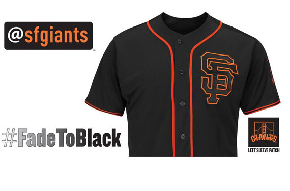 San Francisco Giants New Alternate Jersey 2015
