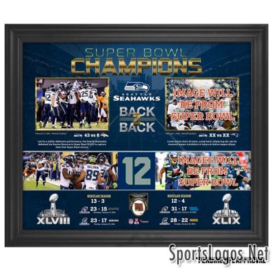Seattle Seahawks Super Bowl XLIX Phantom Champions Collage