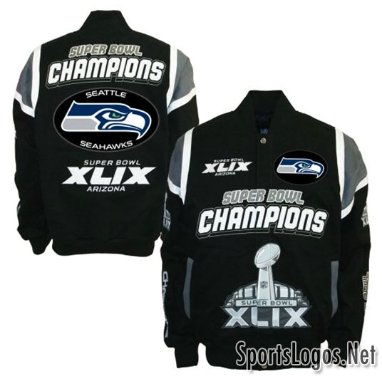 Seattle Seahawks Super Bowl XLIX Phantom Champions Jackets 2