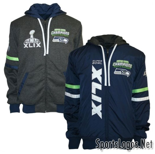 Seattle Seahawks Super Bowl XLIX Phantom Champions Jackets