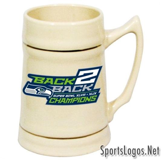Seattle Seahawks Super Bowl XLIX Phantom Champions Mug