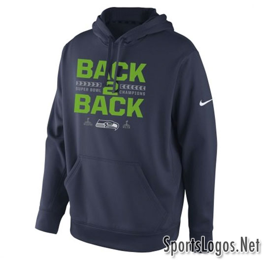 Seattle Seahawks Super Bowl XLIX Phantom Champions Sweatshirt