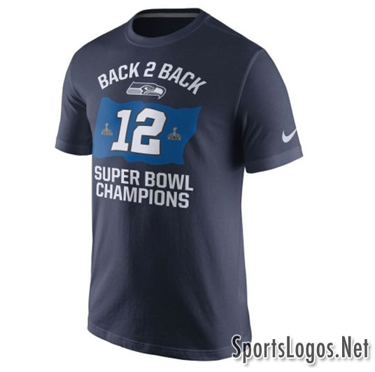 Seattle Seahawks Super Bowl XLIX Phantom Champions T-Shirt 2