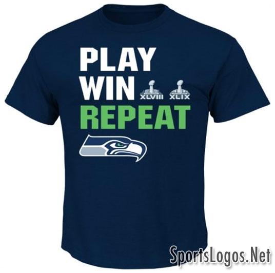 Seattle Seahawks Super Bowl XLIX Phantom Champions T-Shirt 3
