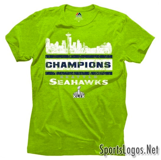 Seattle Seahawks Super Bowl XLIX Phantom Champions T-Shirt 5