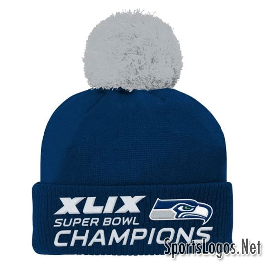 Seattle Seahawks Super Bowl XLIX Phantom Champions Toque
