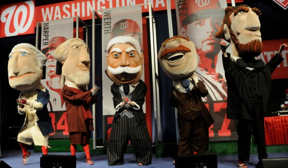 Washington Nationals Presidential Mascots