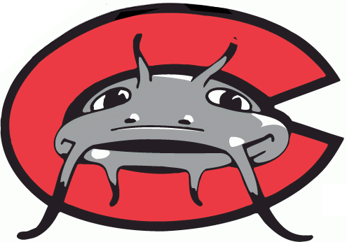 If they hadn't added the tail, the Mudcats logo might have looked like this.