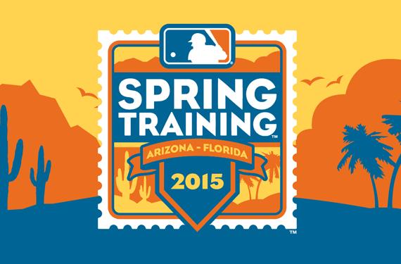 2015 MLB Spring Training Logo Collection