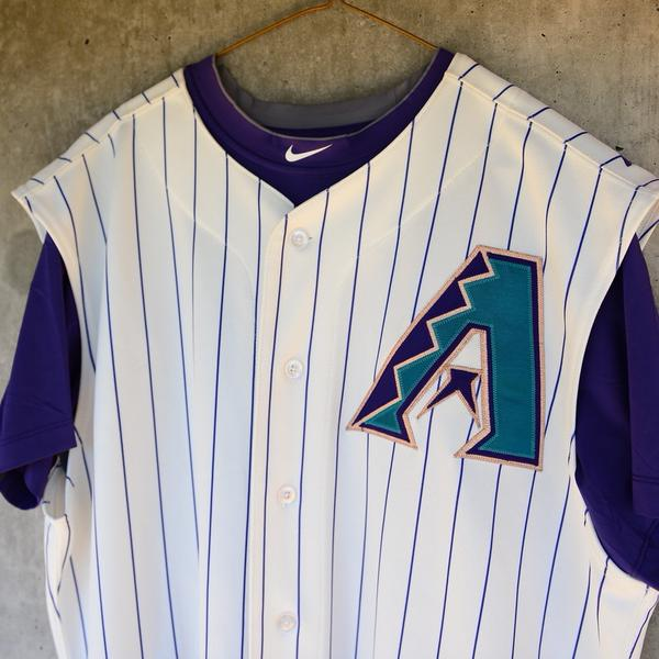 14d22c21e Arizona Diamondbacks will wear vest jerseys for Throwback Thursdays ...
