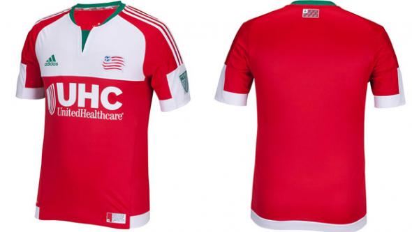 MLS Jersey Week 2015 New England