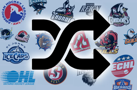 The Great 2015 Minor League Hockey Market Shuffle