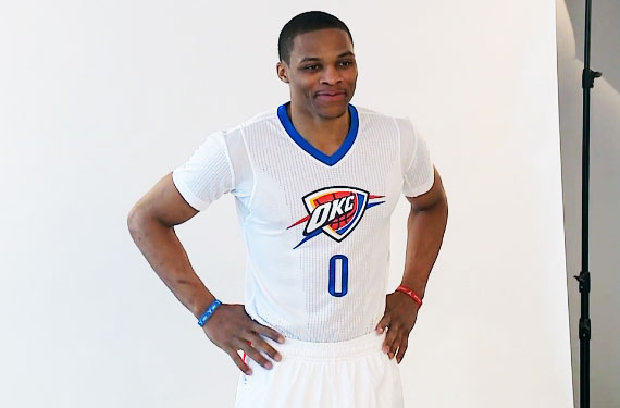 2fe56c19726b OKC Thunder Unveil New Sleeved Alternate Jersey