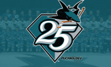 San Jose Sharks 25th